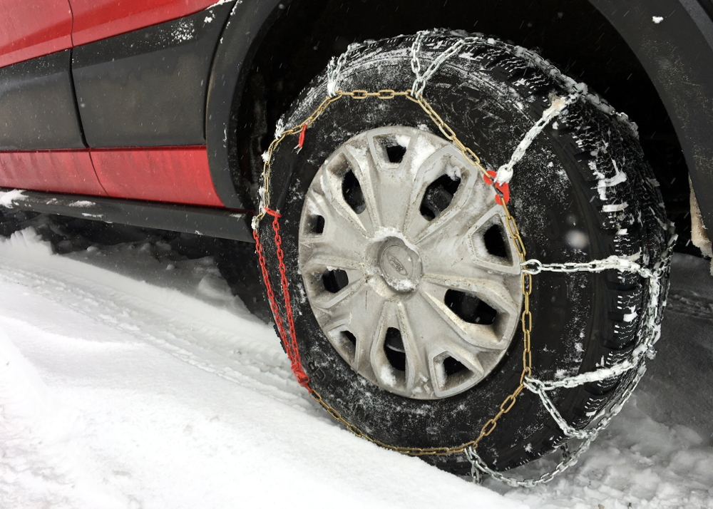 Tools for Driving a Van in Poor Road Conditions