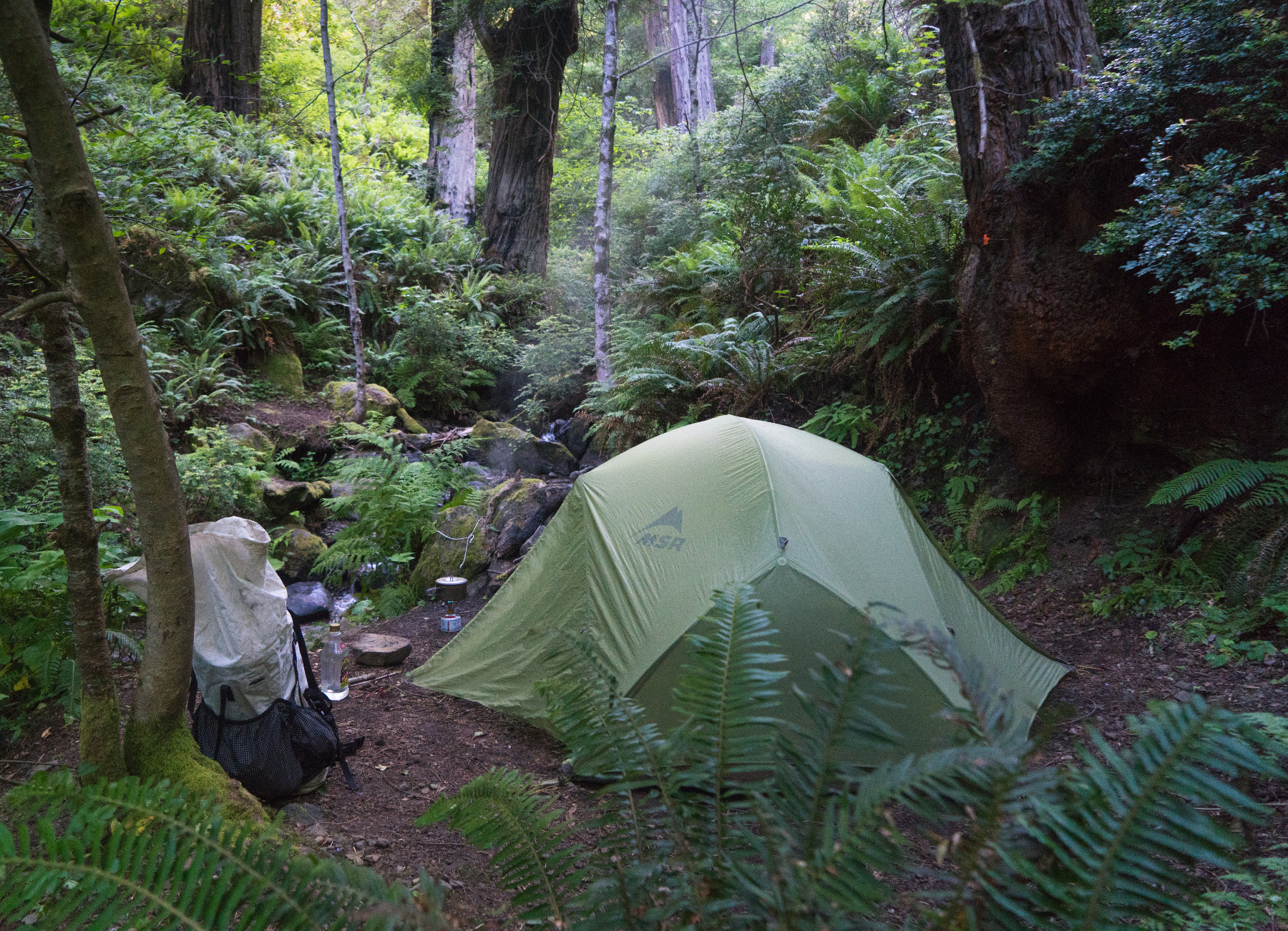 Camping Dark Gulch Lost Coast