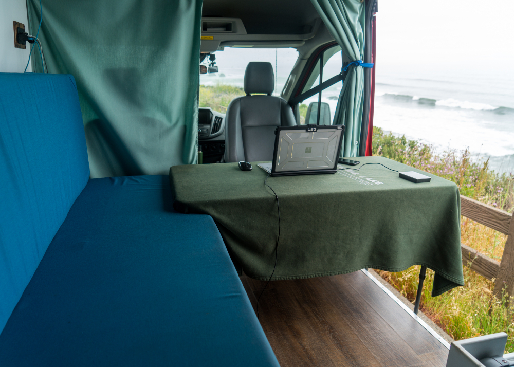 Van Layout: Designing a Mobile Office