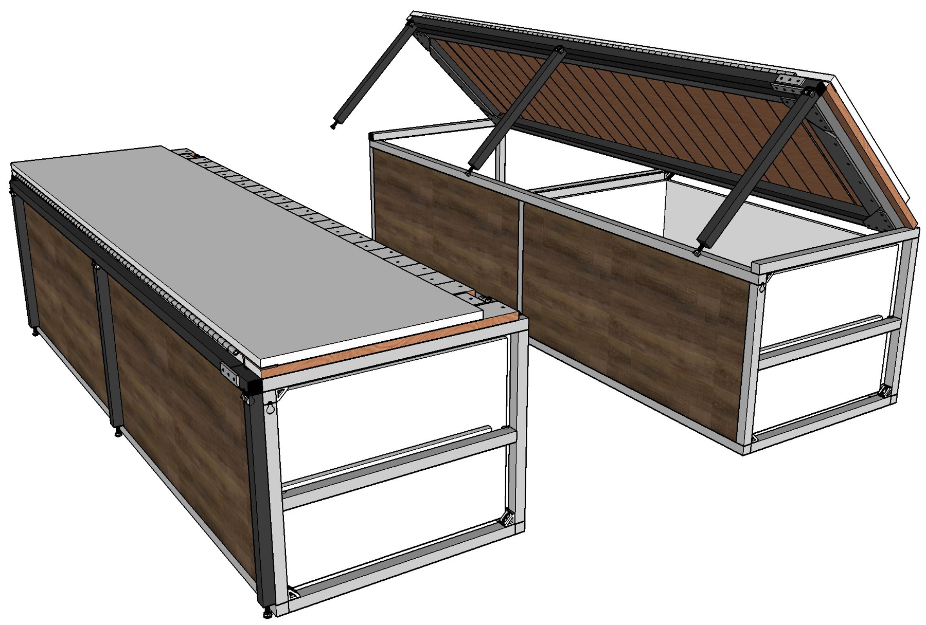 Custom Convertible Sofa Bed Lift Frame