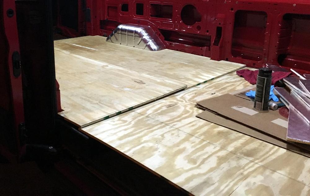 Installing Flooring in a Camper Van | Meandering Explorers