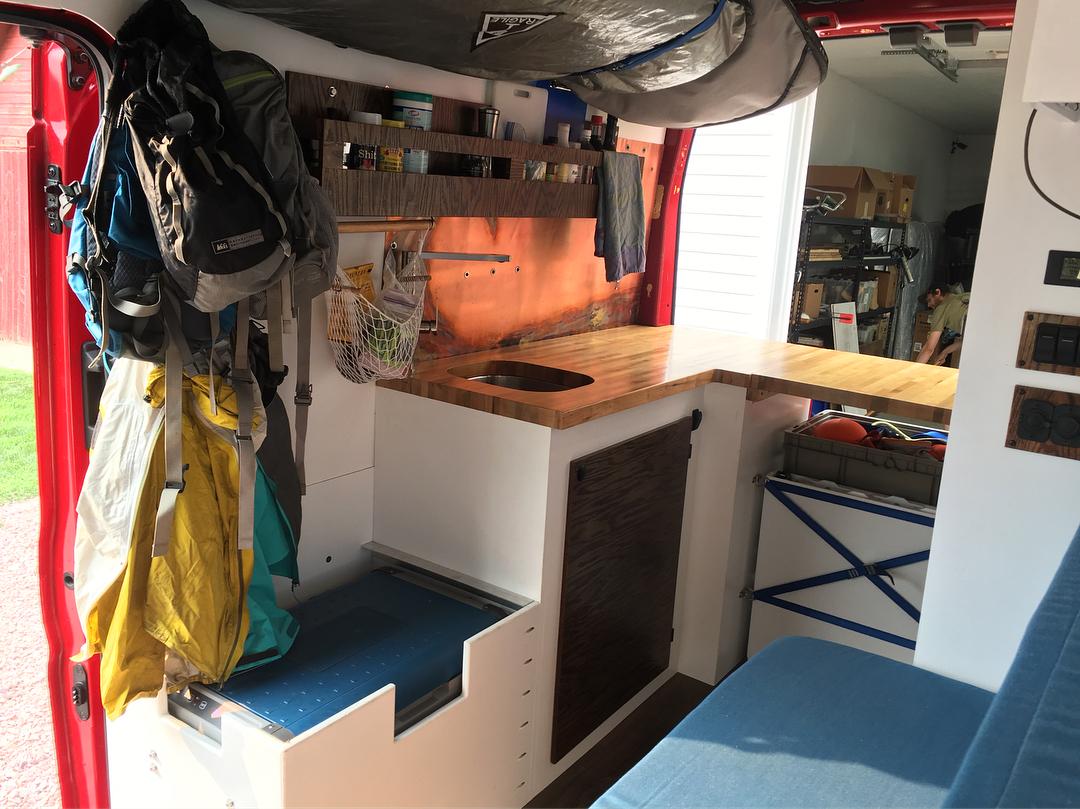 Ford Transit Camper Van Interior IG