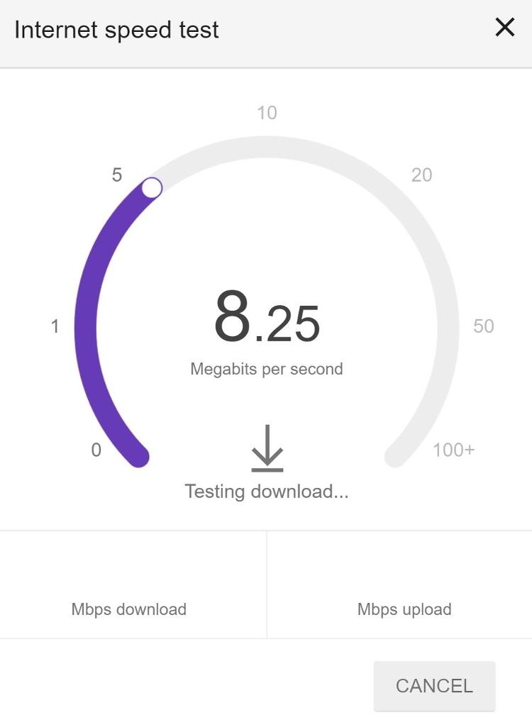 google-speed-test | Meandering Explorers
