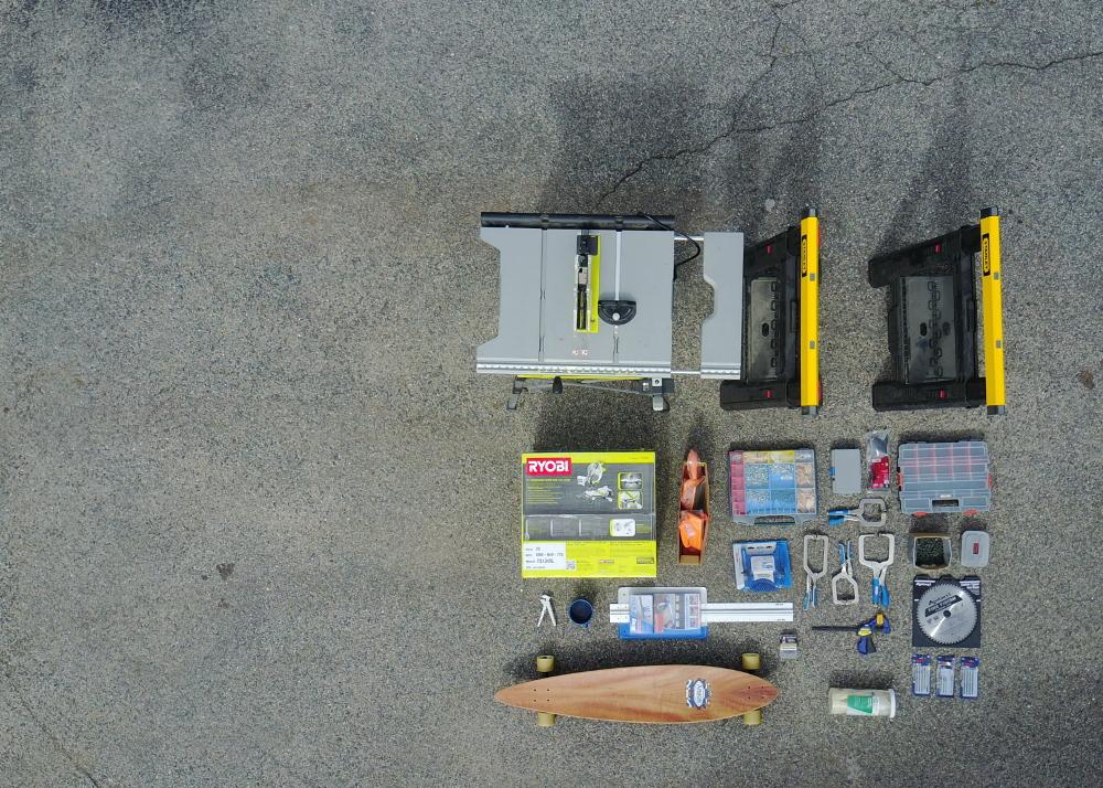 Camper Van Build List (materials, parts and tools)